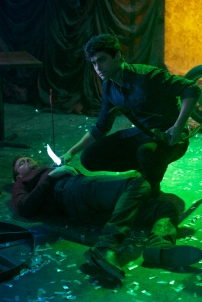 "SHADOWHUNTERS - ""Raising Hell"" - The Shadowhunters will have to put their trust in a Downworlder to access Clary's memories in ""Raising Hell,"" an all-new episode of ""Shadowhunters,"" airing Tuesday, February 2nd at 9:00 – 10:00 p.m., EST/PST on Freeform, the new name for ABC Family. (Freeform/Sven Frenzel) MATTHEW DADDARIO"