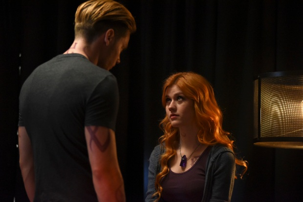 "SHADOWHUNTERS - ""Raising Hell"" - The Shadowhunters will have to put their trust in a Downworlder to access Clary's memories in ""Raising Hell,"" an all-new episode of ""Shadowhunters,"" airing Tuesday, February 2nd at 9:00 – 10:00 p.m., EST/PST on Freeform, the new name for ABC Family. (Freeform/John Medland) KATHERINE MCNAMARA"