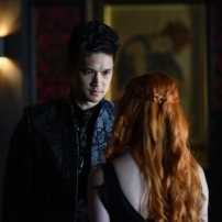 "SHADOWHUNTERS - ""Raising Hell"" - The Shadowhunters will have to put their trust in a Downworlder to access Clary's memories in ""Raising Hell,"" an all-new episode of ""Shadowhunters,"" airing Tuesday, February 2nd at 9:00 – 10:00 p.m., EST/PST on Freeform, the new name for ABC Family. (Freeform/John Medland) HARRY SHUM JR."