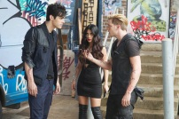 "SHADOWHUNTERS - ""Moo Shu To Go"" - Alec finds himself torn between duty and loyalty to Jace in ""Moo Shu to Go,"" an all-new episode of ""Shadowhunters,"" airing Tuesday, February 9th at 9:00 – 10:00 p.m., EST/PST on Freeform, the new name for ABC Family. (Freeform/Sven Frenzel) MATTHEW DADDARIO, EMERAUDE TOUBIA, DOMINIC SHERWOOD"