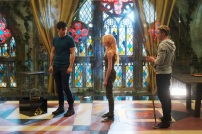 "SHADOWHUNTERS - ""Moo Shu To Go"" - Alec finds himself torn between duty and loyalty to Jace in ""Moo Shu to Go,"" an all-new episode of ""Shadowhunters,"" airing Tuesday, February 9th at 9:00 – 10:00 p.m., EST/PST on Freeform, the new name for ABC Family. (Freeform/Sven Frenzel) MATTHEW DADDARIO, KATHERINE MCNAMARA, DOMINIC SHERWOOD"