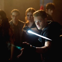 "SHADOWHUNTERS - ""Moo Shu To Go"" - Alec finds himself torn between duty and loyalty to Jace in ""Moo Shu to Go,"" an all-new episode of ""Shadowhunters,"" airing Tuesday, February 9th at 9:00 – 10:00 p.m., EST/PST on Freeform, the new name for ABC Family. (Freeform/Sven Frenzel) EMERAUDE TOUBIA, ALBERTO ROSENDE, KATHERINE MCNAMARA, DOMINIC SHERWOOD"