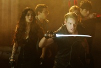 "SHADOWHUNTERS - ""Moo Shu To Go"" - Alec finds himself torn between duty and loyalty to Jace in ""Moo Shu to Go,"" an all-new episode of ""Shadowhunters,"" airing Tuesday, February 9th at 9:00 – 10:00 p.m., EST/PST on Freeform, the new name for ABC Family. (Freeform/Sven Frenzel) EMERAUDE TOUBIA, ALBERTO ROSENDE, DOMINIC SHERWOOD, KATHERINE MCNAMARA, MATTHEW DADDARIO"
