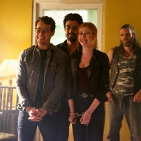 "SHADOWHUNTERS - ""Moo Shu To Go"" - Alec finds himself torn between duty and loyalty to Jace in ""Moo Shu to Go,"" an all-new episode of ""Shadowhunters,"" airing Tuesday, February 9th at 9:00 – 10:00 p.m., EST/PST on Freeform, the new name for ABC Family. (Freeform/Sven Frenzel) ALBERTO ROSENDE, JOEL LABELLE, KATHERINE MCNAMARA"