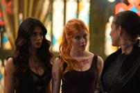 "SHADOWHUNTERS - ""Moo Shu To Go"" - Alec finds himself torn between duty and loyalty to Jace in ""Moo Shu to Go,"" an all-new episode of ""Shadowhunters,"" airing Tuesday, February 9th at 9:00 – 10:00 p.m., EST/PST on Freeform, the new name for ABC Family. (Freeform/John Medland) EMERAUDE TOUBIA, KATHERINE MCNAMARA, NICOLA CORREIA-DAMUDE"