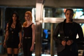"""SHADOWHUNTERS - """"Moo Shu To Go"""" - Alec finds himself torn between duty and loyalty to Jace in """"Moo Shu to Go,"""" an all-new episode of """"Shadowhunters,"""" airing  Tuesday, February 9th at 9:00 – 10:00 p.m., EST/PST on Freeform, the new name for ABC Family. (Freeform/John Medland) EMERAUDE TOUBIA, KATHERINE MCNAMARA, NICOLA CORREIA-DAMUDE"""
