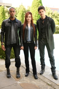 "SHADOWHUNTERS - ""Of Men and Angels"" - Magnus and Luke reveal Clary's past in ""Of Men and Angels,"" an all-new episode of ""Shadowhunters,"" airing Tuesday, February 16th at 9:00 – 10:00 p.m., EST/PST on Freeform, the new name for ABC Family. (Freeform/John Medland) NYKEEM PROVO, SUSANNA FOURNIER, OWEN ROTH"