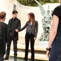 "SHADOWHUNTERS - ""Of Men and Angels"" - Magnus and Luke reveal Clary's past in ""Of Men and Angels,"" an all-new episode of ""Shadowhunters,"" airing Tuesday, February 16th at 9:00 – 10:00 p.m., EST/PST on Freeform, the new name for ABC Family. (Freeform/John Medland) OWEN ROTH, SUSANNA FOURNIER"