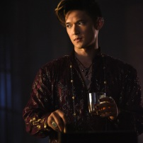 """SHADOWHUNTERS - """"Of Men and Angels"""" - Magnus and Luke reveal Clary's past in """"Of Men and Angels,"""" an all-new episode of """"Shadowhunters,"""" airing Tuesday, February 16th at 9:00 – 10:00 p.m., EST/PST on Freeform, the new name for ABC Family. (Freeform/John Medland) HARRY SHUM JR."""