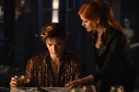 """SHADOWHUNTERS - """"Of Men and Angels"""" - Magnus and Luke reveal Clary's past in """"Of Men and Angels,"""" an all-new episode of """"Shadowhunters,"""" airing Tuesday, February 16th at 9:00 – 10:00 p.m., EST/PST on Freeform, the new name for ABC Family. (Freeform/John Medland) HARRY SHUM JR., KATHERINE MCNAMARA"""