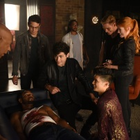 "SHADOWHUNTERS - ""Of Men and Angels"" - Magnus and Luke reveal Clary's past in ""Of Men and Angels,"" an all-new episode of ""Shadowhunters,"" airing Tuesday, February 16th at 9:00 – 10:00 p.m., EST/PST on Freeform, the new name for ABC Family. (Freeform/John Medland) OZ SCOTT (DIRECTOR), ALBERTO ROSENDE, ISAIAH MUSTAFA, MATTHEW DADDARIO, DOMINIC SHERWOOD, HARRY SHUM JR., KATHERINE MCNAMARA"