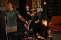 "SHADOWHUNTERS - ""Of Men and Angels"" - Magnus and Luke reveal Clary's past in ""Of Men and Angels,"" an all-new episode of ""Shadowhunters,"" airing Tuesday, February 16th at 9:00 – 10:00 p.m., EST/PST on Freeform, the new name for ABC Family. (Freeform/John Medland) ISAIAH MUSTAFA, MATTHEW DADDARIO, HARRY SHUM JR."