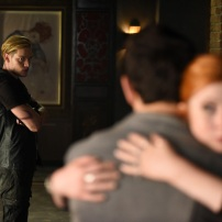 """SHADOWHUNTERS - """"Of Men and Angels"""" - Magnus and Luke reveal Clary's past in """"Of Men and Angels,"""" an all-new episode of """"Shadowhunters,"""" airing Tuesday, February 16th at 9:00 – 10:00 p.m., EST/PST on Freeform, the new name for ABC Family. (Freeform/John Medland) DOMINIC SHERWOOD"""
