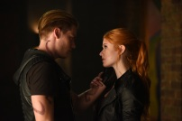 "SHADOWHUNTERS - ""Of Men and Angels"" - Magnus and Luke reveal Clary's past in ""Of Men and Angels,"" an all-new episode of ""Shadowhunters,"" airing Tuesday, February 16th at 9:00 – 10:00 p.m., EST/PST on Freeform, the new name for ABC Family. (Freeform/John Medland) DOMINIC SHERWOOD, KATHERINE MCNAMARA"