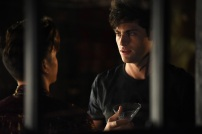 """SHADOWHUNTERS - """"Of Men and Angels"""" - Magnus and Luke reveal Clary's past in """"Of Men and Angels,"""" an all-new episode of """"Shadowhunters,"""" airing Tuesday, February 16th at 9:00 – 10:00 p.m., EST/PST on Freeform, the new name for ABC Family. (Freeform/John Medland) MATTHEW DADDARIO"""