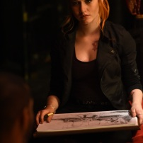 """SHADOWHUNTERS - """"Of Men and Angels"""" - Magnus and Luke reveal Clary's past in """"Of Men and Angels,"""" an all-new episode of """"Shadowhunters,"""" airing Tuesday, February 16th at 9:00 – 10:00 p.m., EST/PST on Freeform, the new name for ABC Family. (Freeform/John Medland) KATHERINE MCNAMARA"""