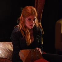 "SHADOWHUNTERS - ""Of Men and Angels"" - Magnus and Luke reveal Clary's past in ""Of Men and Angels,"" an all-new episode of ""Shadowhunters,"" airing Tuesday, February 16th at 9:00 – 10:00 p.m., EST/PST on Freeform, the new name for ABC Family. (Freeform/John Medland) KATHERINE MCNAMARA"
