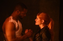 "SHADOWHUNTERS - ""Of Men and Angels"" - Magnus and Luke reveal Clary's past in ""Of Men and Angels,"" an all-new episode of ""Shadowhunters,"" airing Tuesday, February 16th at 9:00 – 10:00 p.m., EST/PST on Freeform, the new name for ABC Family. (Freeform/John Medland) ISAIAH MUSTAFA, KATHERINE MCNAMARA"