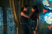 "SHADOWHUNTERS - ""Of Men and Angels"" - Magnus and Luke reveal Clary's past in ""Of Men and Angels,"" an all-new episode of ""Shadowhunters,"" airing Tuesday, February 16th at 9:00 – 10:00 p.m., EST/PST on Freeform, the new name for ABC Family. (Freeform/Sven Frenzel) NICOLA CORREIA-DAMUDE, EMERAUDE TOUBIA"