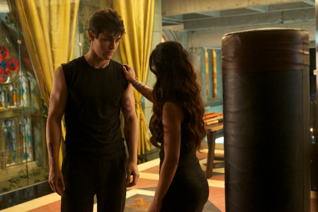 "SHADOWHUNTERS - ""Of Men and Angels"" - Magnus and Luke reveal Clary's past in ""Of Men and Angels,"" an all-new episode of ""Shadowhunters,"" airing Tuesday, February 16th at 9:00 – 10:00 p.m., EST/PST on Freeform, the new name for ABC Family. (Freeform/Sven Frenzel) MATTHEW DADDARIO, EMERAUDE TOUBIA"
