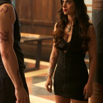 """SHADOWHUNTERS - """"Of Men and Angels"""" - Magnus and Luke reveal Clary's past in """"Of Men and Angels,"""" an all-new episode of """"Shadowhunters,"""" airing Tuesday, February 16th at 9:00 – 10:00 p.m., EST/PST on Freeform, the new name for ABC Family. (Freeform/Sven Frenzel) MATTHEW DADDARIO, EMERAUDE TOUBIA"""