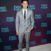 TCA WINTER PRESS TOUR 2016 - The cast and executive producers of Freeform series graced the carpet at Disney | ABC Television Group's Winter Press Tour 2016. (Freeform/Image Group LA) HARRY SHUM JR.