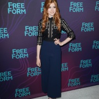 TCA WINTER PRESS TOUR 2016 - The cast and executive producers of Freeform series graced the carpet at Disney | ABC Television Group's Winter Press Tour 2016. (Freeform/Image Group LA) KATHERINE MCNAMARA
