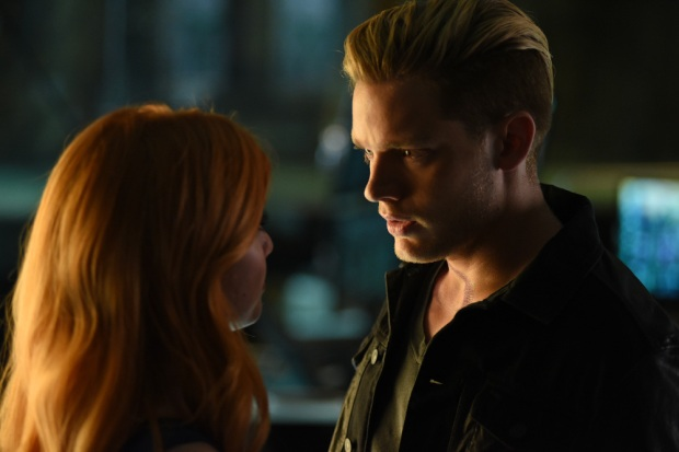 "SHADOWHUNTERS - ""Major Arcana"" - With the knowledge of where The Mortal Cup is, Clary and the team race to get it before anyone else beats them to it in ""Major Arcana,"" an all-new episode of ""Shadowhunters,"" airing Tuesday, February 23rd at 9:00 – 10:00 p.m., EST/PST on Freeform, the new name for ABC Family.(Freeform/John Medland) KATHERINE MCNAMARA, DOMINIC SHERWOOD"