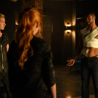 "SHADOWHUNTERS - ""Major Arcana"" - With the knowledge of where The Mortal Cup is, Clary and the team race to get it before anyone else beats them to it in ""Major Arcana,"" an all-new episode of ""Shadowhunters,"" airing Tuesday, February 23rd at 9:00 – 10:00 p.m., EST/PST on Freeform, the new name for ABC Family.(Freeform/John Medland) DOMINIC SHERWOOD, ISAIAH MUSTAFA"