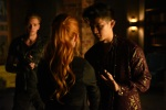 """SHADOWHUNTERS - """"Major Arcana"""" - With the knowledge of where The Mortal Cup is, Clary and the team race to get it before anyone else beats them to it in """"Major Arcana,"""" an all-new episode of """"Shadowhunters,"""" airing  Tuesday, February 23rd at 9:00 – 10:00 p.m., EST/PST on Freeform, the new name for ABC Family.(Freeform/John Medland) DOMINIC SHERWOOD, HARRY SHUM JR."""