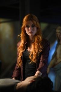 "SHADOWHUNTERS - ""Bad Blood"" - Alec and Clary are forced to make some hard decisions in ""Bad Blood,"" an all-new episode of ""Shadowhunters,"" airing Tuesday, March 1st at 9:00 – 10:00 p.m., EST/PST on Freeform, the new name for ABC Family. (Freeform/John Medland) KATHERINE MCNAMARA"