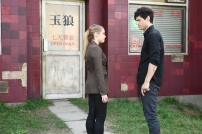 "SHADOWHUNTERS - ""Bad Blood"" - Alec and Clary are forced to make some hard decisions in ""Bad Blood,"" an all-new episode of ""Shadowhunters,"" airing Tuesday, March 1st at 9:00 – 10:00 p.m., EST/PST on Freeform, the new name for ABC Family. (Freeform/John Medland) STEPHANIE BENNETT, MATTHEW DADDARIO"