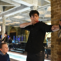 "SHADOWHUNTERS - ""Bad Blood"" - Alec and Clary are forced to make some hard decisions in ""Bad Blood,"" an all-new episode of ""Shadowhunters,"" airing Tuesday, March 1st at 9:00 – 10:00 p.m., EST/PST on Freeform, the new name for ABC Family. (Freeform/John Medland) JACK FULTON, MATTHEW DADDARIO"