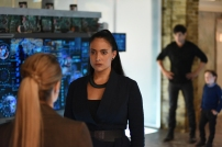 "SHADOWHUNTERS - ""Bad Blood"" - Alec and Clary are forced to make some hard decisions in ""Bad Blood,"" an all-new episode of ""Shadowhunters,"" airing Tuesday, March 1st at 9:00 – 10:00 p.m., EST/PST on Freeform, the new name for ABC Family. (Freeform/John Medland) STEPHANIE BENNETT, NICOLA CORREIA-DAMUDE, MATTHEW DADDARIO, JACK FULTON"