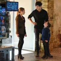 "SHADOWHUNTERS - ""Bad Blood"" - Alec and Clary are forced to make some hard decisions in ""Bad Blood,"" an all-new episode of ""Shadowhunters,"" airing Tuesday, March 1st at 9:00 – 10:00 p.m., EST/PST on Freeform, the new name for ABC Family. (Freeform/John Medland) STEPHANIE BENNETT, MATTHEW DADDARIO, JACK FULTON"