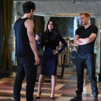 "SHADOWHUNTERS - ""Rise Up"" - With the Institute on high alert, Jace, Clary and Isabelle are forced into taking drastic actions in ""Rise Up,"" an all-new episode of ""Shadowhunters,"" airing Tuesday, March 8th at 9:00-10:00 p.m., EST/PST on Freeform, the new name for ABC Family. - With the Institute on high alert, Jace, Clary and Isabelle are forced into taking drastic actions. (Freeform/John Medland) MATTHEW DADDARIO, EMERAUDE TOUBIA, DOMINIC SHERWOOD"