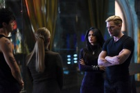 "SHADOWHUNTERS - ""Rise Up"" - With the Institute on high alert, Jace, Clary and Isabelle are forced into taking drastic actions in ""Rise Up,"" an all-new episode of ""Shadowhunters,"" airing Tuesday, March 8th at 9:00-10:00 p.m., EST/PST on Freeform, the new name for ABC Family. - With the Institute on high alert, Jace, Clary and Isabelle are forced into taking drastic actions. (Freeform/John Medland) MATTHEW DADDARIO, STEPHANIE BENNETT, EMERAUDE TOUBIA, DOMINIC SHERWOOD"