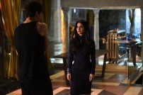 "SHADOWHUNTERS - ""Rise Up"" - With the Institute on high alert, Jace, Clary and Isabelle are forced into taking drastic actions in ""Rise Up,"" an all-new episode of ""Shadowhunters,"" airing Tuesday, March 8th at 9:00-10:00 p.m., EST/PST on Freeform, the new name for ABC Family. - With the Institute on high alert, Jace, Clary and Isabelle are forced into taking drastic actions. (Freeform/John Medland) EMERAUDE TOUBIA"