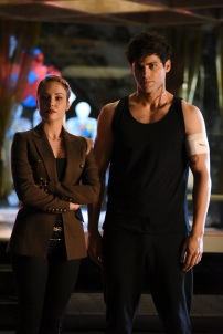 """SHADOWHUNTERS - """"Rise Up"""" - With the Institute on high alert, Jace, Clary and Isabelle are forced into taking drastic actions in """"Rise Up,"""" an all-new episode of """"Shadowhunters,"""" airing Tuesday, March 8th at 9:00-10:00 p.m., EST/PST on Freeform, the new name for ABC Family. - With the Institute on high alert, Jace, Clary and Isabelle are forced into taking drastic actions. (Freeform/John Medland) STEPHANIE BENNETT, MATTHEW DADDARIO"""