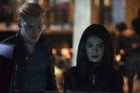 "SHADOWHUNTERS - ""Rise Up"" - With the Institute on high alert, Jace, Clary and Isabelle are forced into taking drastic actions in ""Rise Up,"" an all-new episode of ""Shadowhunters,"" airing Tuesday, March 8th at 9:00-10:00 p.m., EST/PST on Freeform, the new name for ABC Family. - With the Institute on high alert, Jace, Clary and Isabelle are forced into taking drastic actions. (Freeform/John Medland) DOMINIC SHERWOOD, EMERAUDE TOUBIA"
