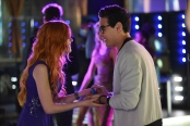 "SHADOW HUNTERS - ""This World Inverted"" - Clary finds herself is a strange reality in ""This World Inverted,"" an all-new episode of ""Shadowhunters,"" airing  TUESDAY, MARCH 15 (9:00 – 10:00 p.m., EST) on Freeform, the new name for ABC Family. (Freeform/John Medland) KATHERINE MCNAMARA, ALBERTO ROSENDE"