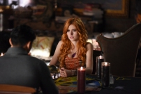 "SHADOWHUNTERS - ""The World Inverted"" - Clary finds herself is a strange reality in ""This World Inverted,"" an all-new episode of ""Shadowhunters,"" airing TUESDAY, MARCH 15 (9:00 - 10:00 p.m., EST) on Freeform, the new name for ABC Family. (Freeform/John Medland) KATHERINE MCNAMARA"