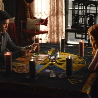 "SHADOWHUNTERS - ""The World Inverted"" - Clary finds herself is a strange reality in ""This World Inverted,"" an all-new episode of ""Shadowhunters,"" airing TUESDAY, MARCH 15 (9:00 - 10:00 p.m., EST) on Freeform, the new name for ABC Family. (Freeform/John Medland) HARRY SHUM JR., KATHERINE MCNAMARA"