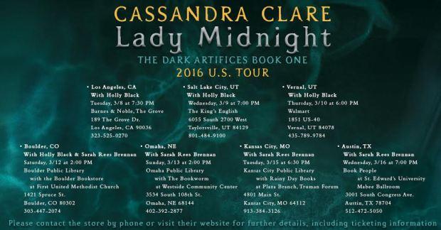 Lady Midnight stops