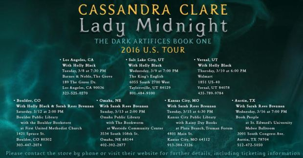 Lady Midnight stops