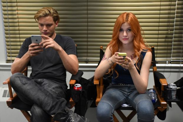 "SHADOWHUNTERS - ""Major Arcana"" - With the knowledge of where The Mortal Cup is, Clary and the team race to get it before anyone else beats them to it in ""Major Arcana,"" an all-new episode of ""Shadowhunters,"" airing Tuesday, February 23rd at 9:00 – 10:00 p.m., EST/PST on Freeform, the new name for ABC Family.(Freeform/John Medland) DOMINIC SHERWOOD, KATHERINE MCNAMARA"
