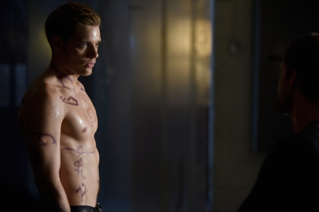 "SHADOW HUNTERS - ""Blood Calls to Blood"" - With the help of a new ally, Clary and Jace attempt to rescue Jocelyn in ""Blood Calls to Blood,"" an all-new episode of ""Shadowhunters,"" airing TUESDAY, MARCH 22 (9:00-10:00 p.m. EDT) on Freeform. (Freeform/John Medland) DOMINIC SHERWOOD"