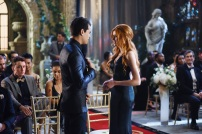 """SHADOW HUNTERS - """"Malec"""" - On the eve of Alec and Lydia's wedding relationships are being examined in """"Malec,"""" an all-new episode of """"Shadowhunters,"""" airing TUESDAY, MARCH 29 (9:00 – 10:00 p.m., EST) on Freeform, the new name for ABC Family. (Freeform/John Medland) ALBERTO ROSENDE, KATHERINE MCNAMARA"""