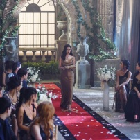 "SHADOW HUNTERS - ""Malec"" - On the eve of Alec and Lydia's wedding relationships are being examined in ""Malec,"" an all-new episode of ""Shadowhunters,"" airing TUESDAY, MARCH 29 (9:00 – 10:00 p.m., EST) on Freeform, the new name for ABC Family. (Freeform/John Medland) EMERAUDE TOUBIA"