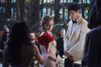 """SHADOW HUNTERS - """"Malec"""" - On the eve of Alec and Lydia's wedding relationships are being examined in """"Malec,"""" an all-new episode of """"Shadowhunters,"""" airing TUESDAY, MARCH 29 (9:00 – 10:00 p.m., EST) on Freeform, the new name for ABC Family. (Freeform/John Medland) STEPHANIE BENNETT, MATTHEW DADDARIO"""